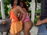 Angelina Crow and Corena in Super Sluts Vol 1